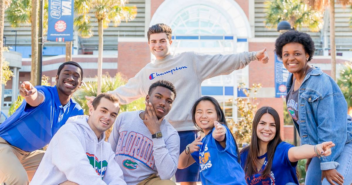 uf game day traditions friends