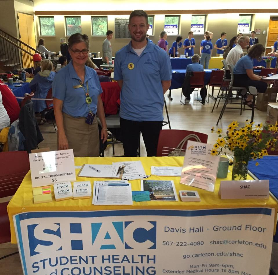 SHAC stand mental health