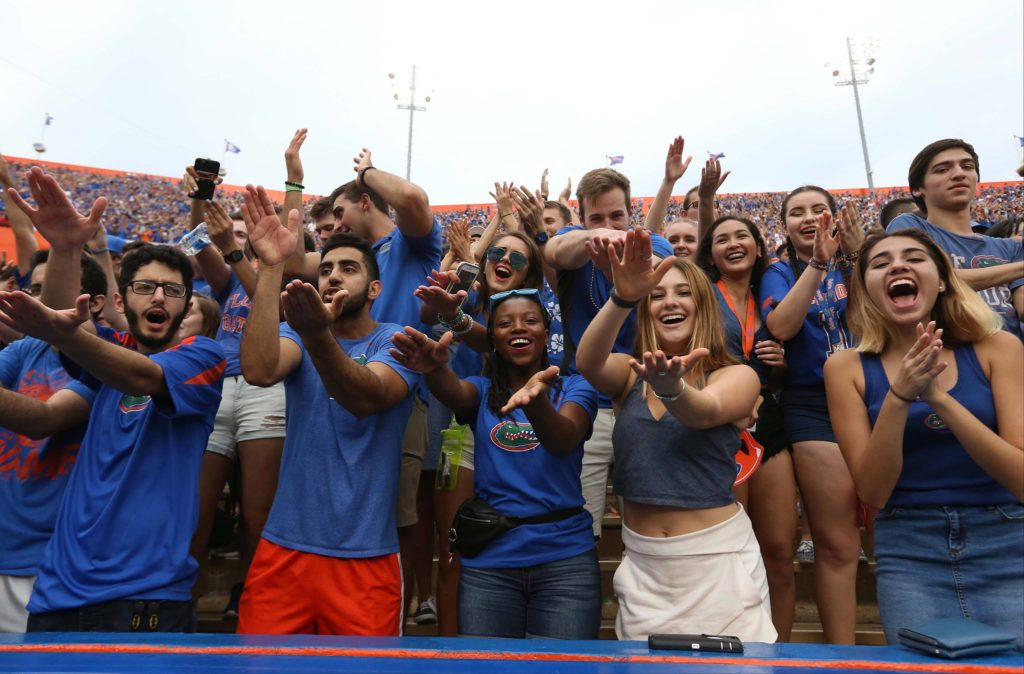fans uf game day traditions