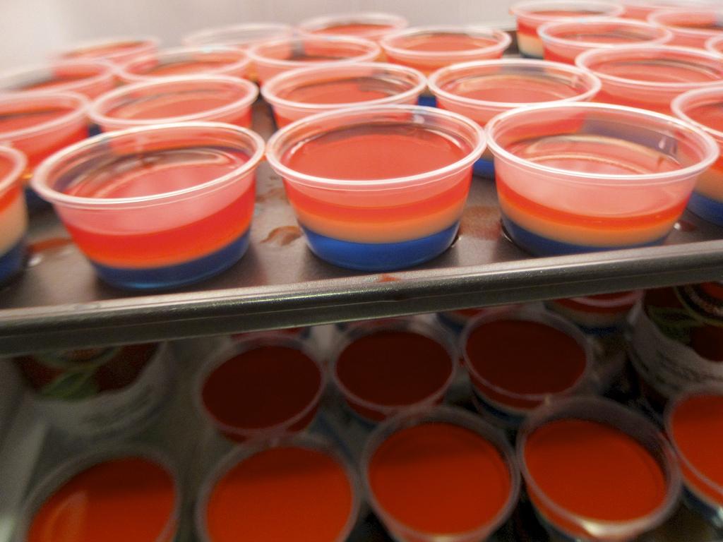 jello shots 21st birthday ideas