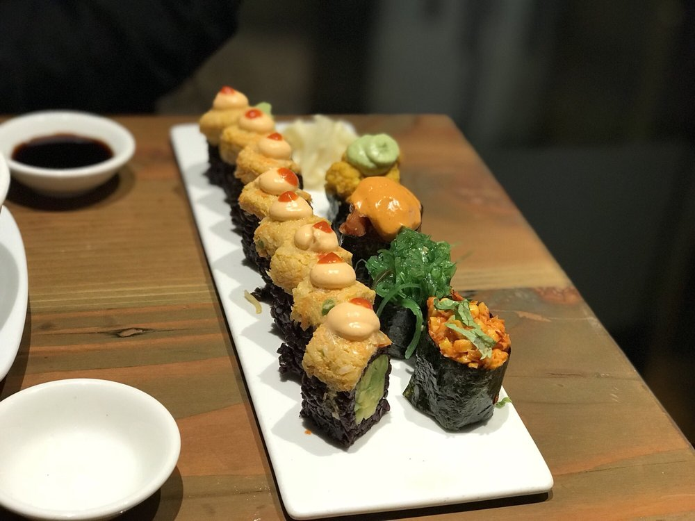 vegan sushi ntc