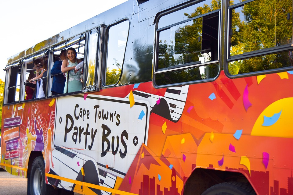 party bus 21st birthday ideas