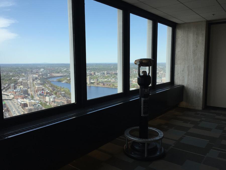Boston Skywalk Observatory Outlook