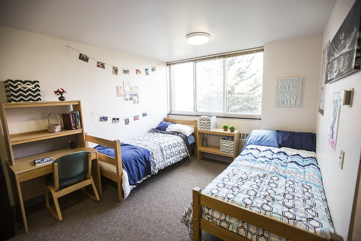 the college dorm list by actual college students