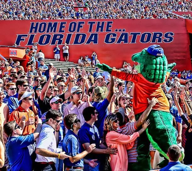 UF football game