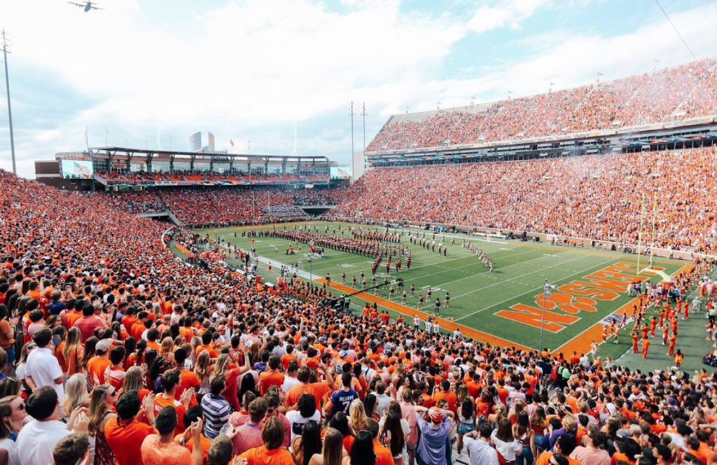 top 10 universities for tailgating