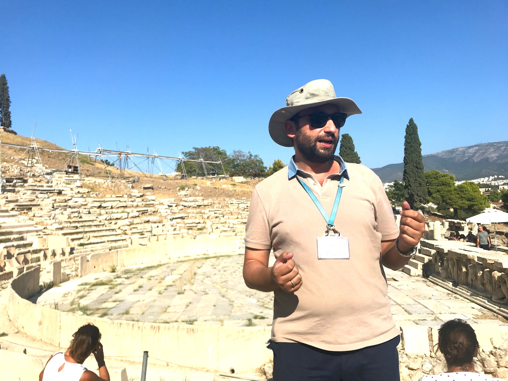 Acropolis tour with Touloumakos and Athens Insider