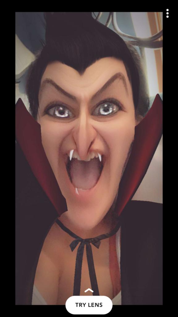 vampire-snap-filter