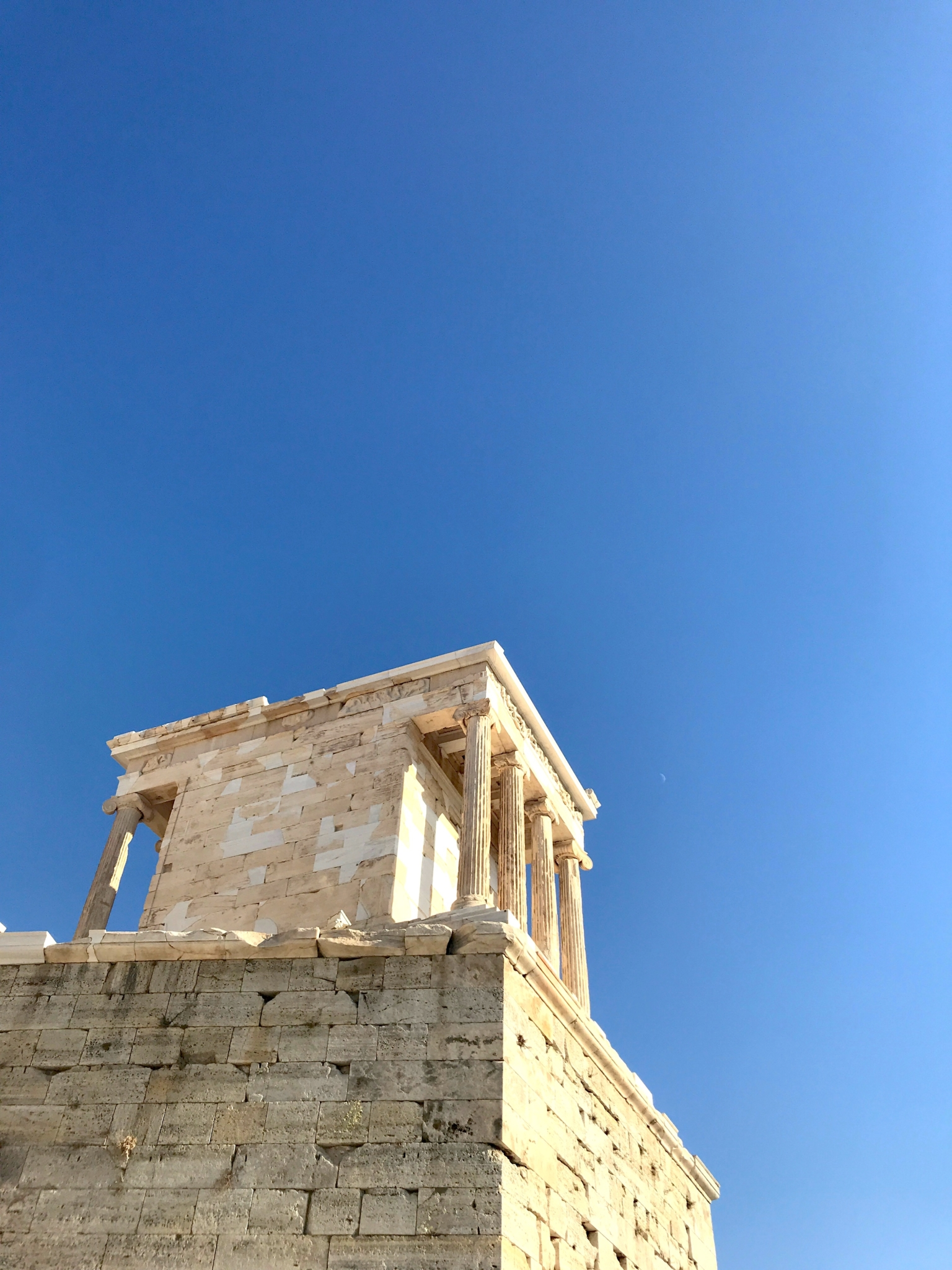 temple of nike at acropolis in athens