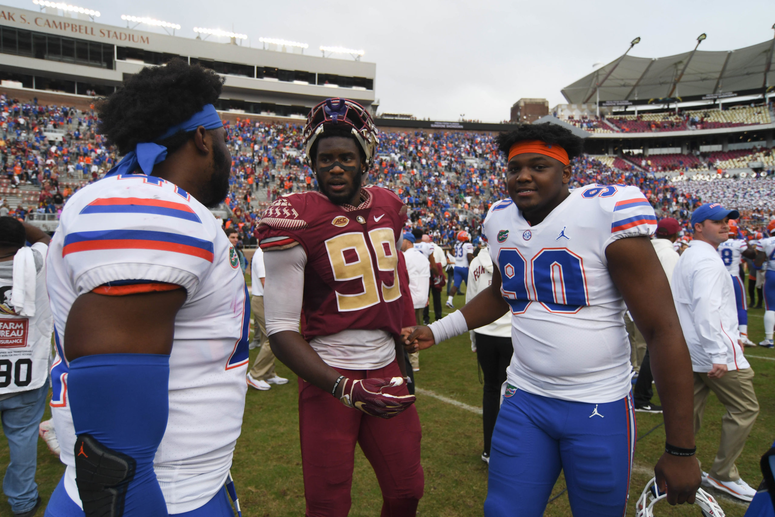 FSU vs UF football