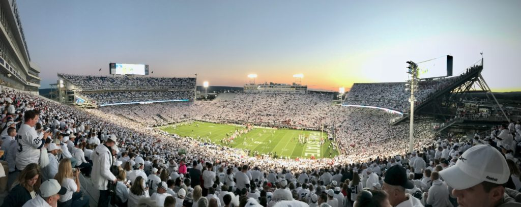penn state white out