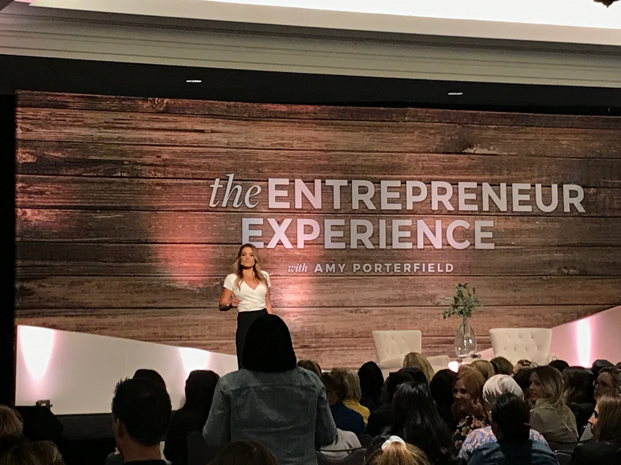 Jasmine Star at the Amy Porterfield Entrepreneur Experience