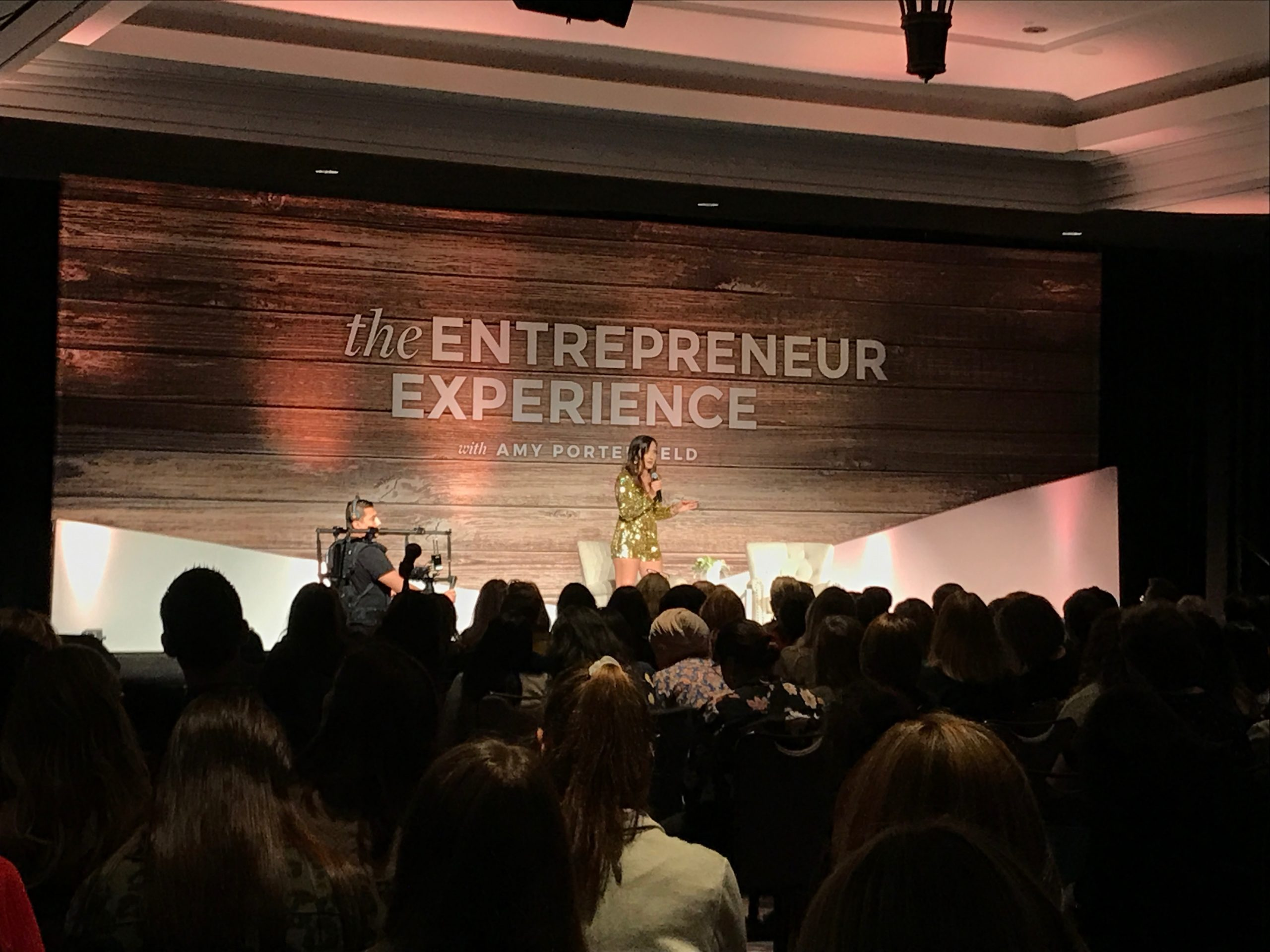 Tarzan Kay at the Amy Porterfield Entrepreneur Experience