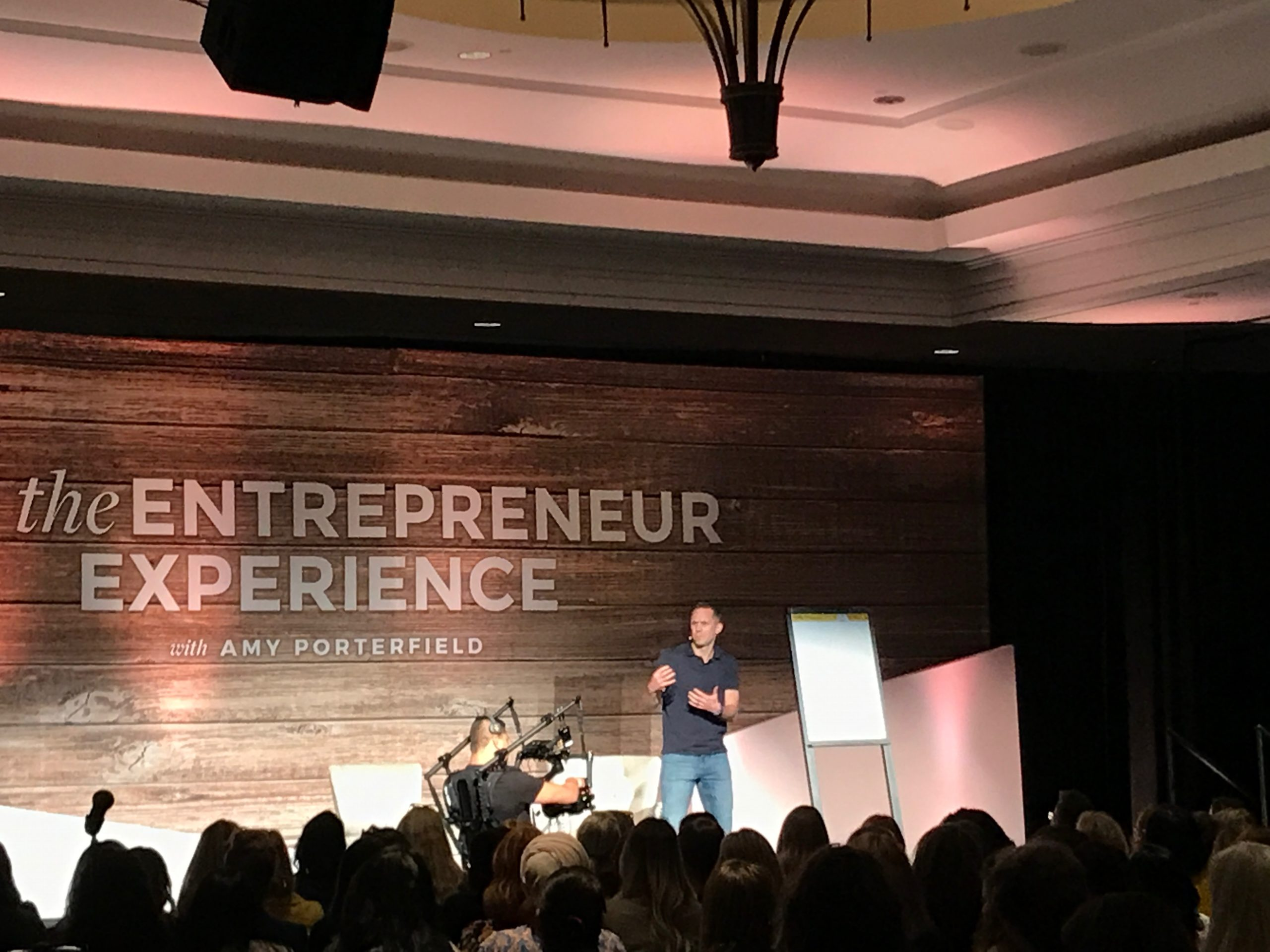 Stu McLaren at the Amy Porterfield Entrepreneur Experience