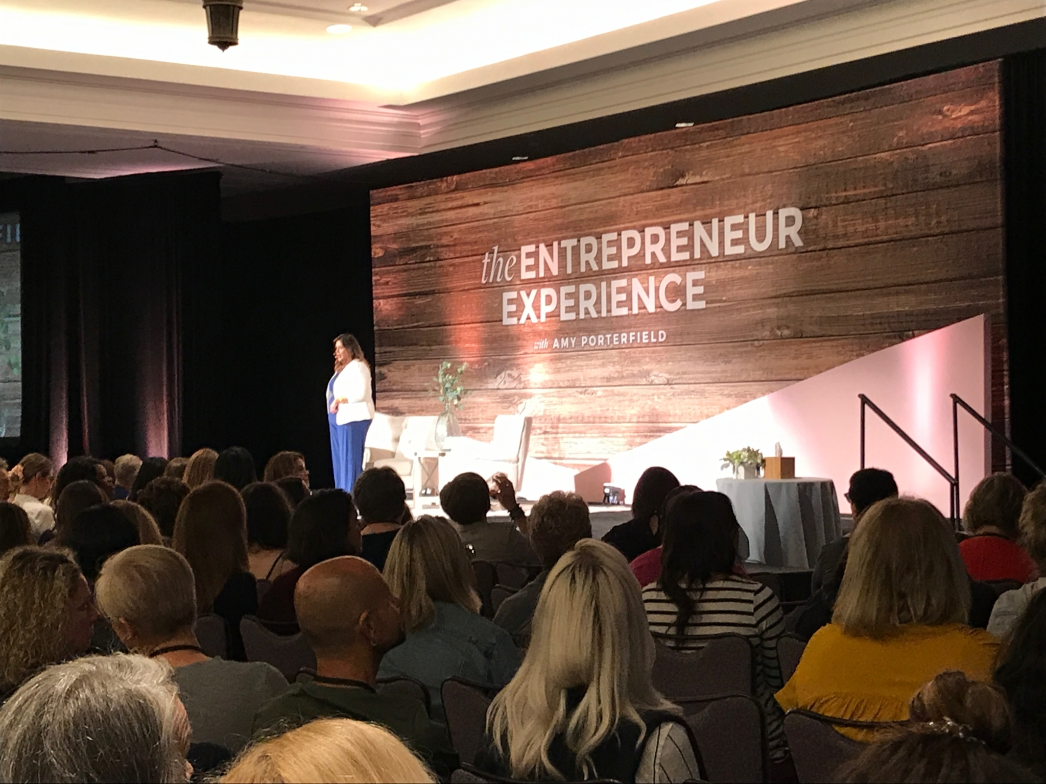 Gina Gomez at the Amy Porterfield Entrepreneur Experience
