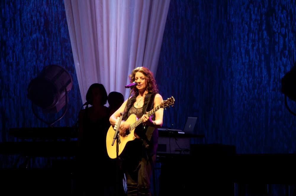 Sarah McLachlan performing