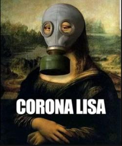 Coronavirus Memes Mona Lisa