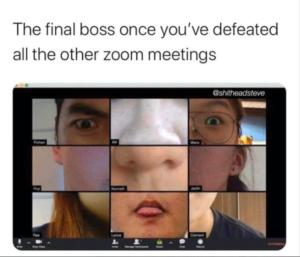 Coronavirus Memes Zoom