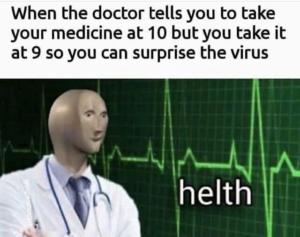 Coronavirus Memes Helth Meme Man
