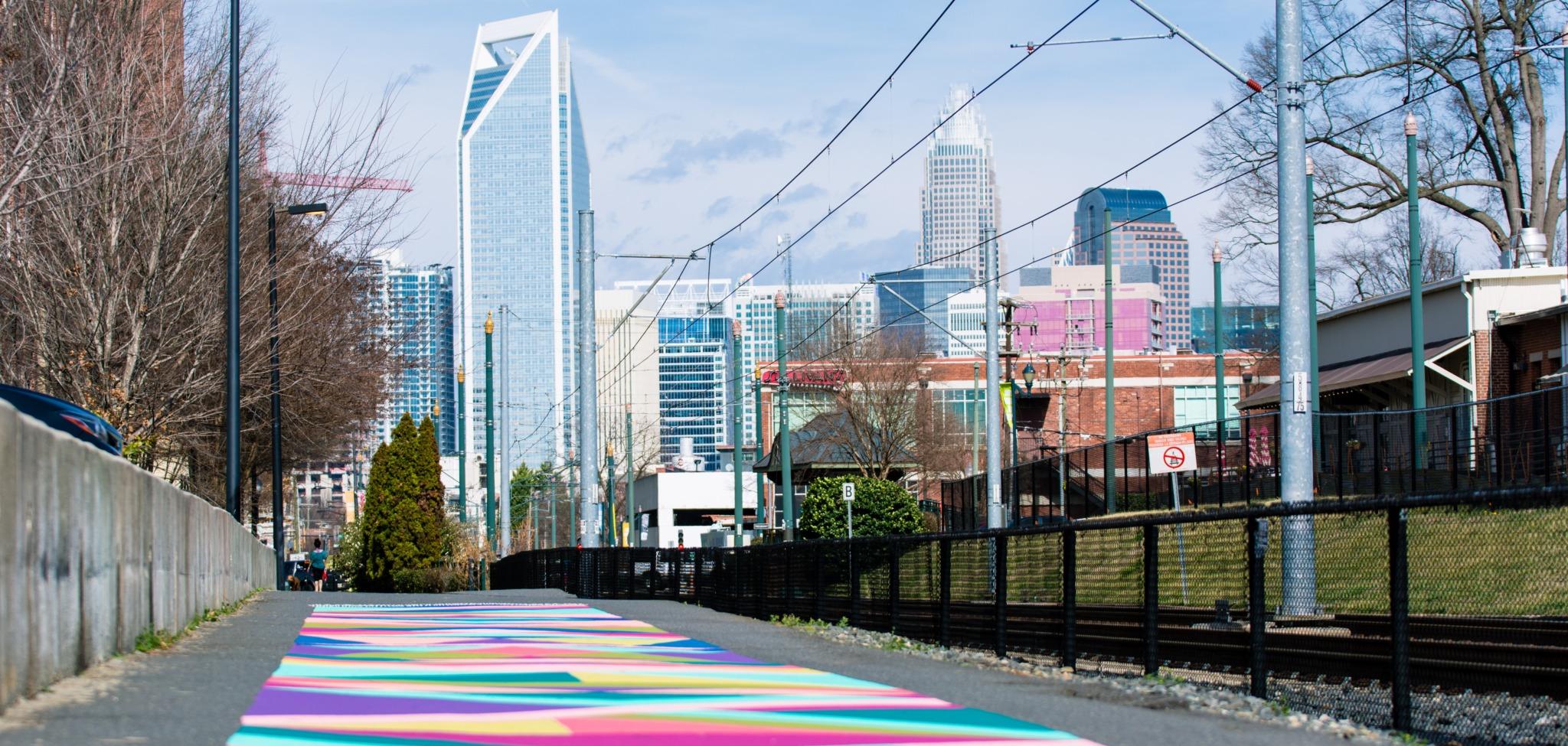 Charlotte trail rail