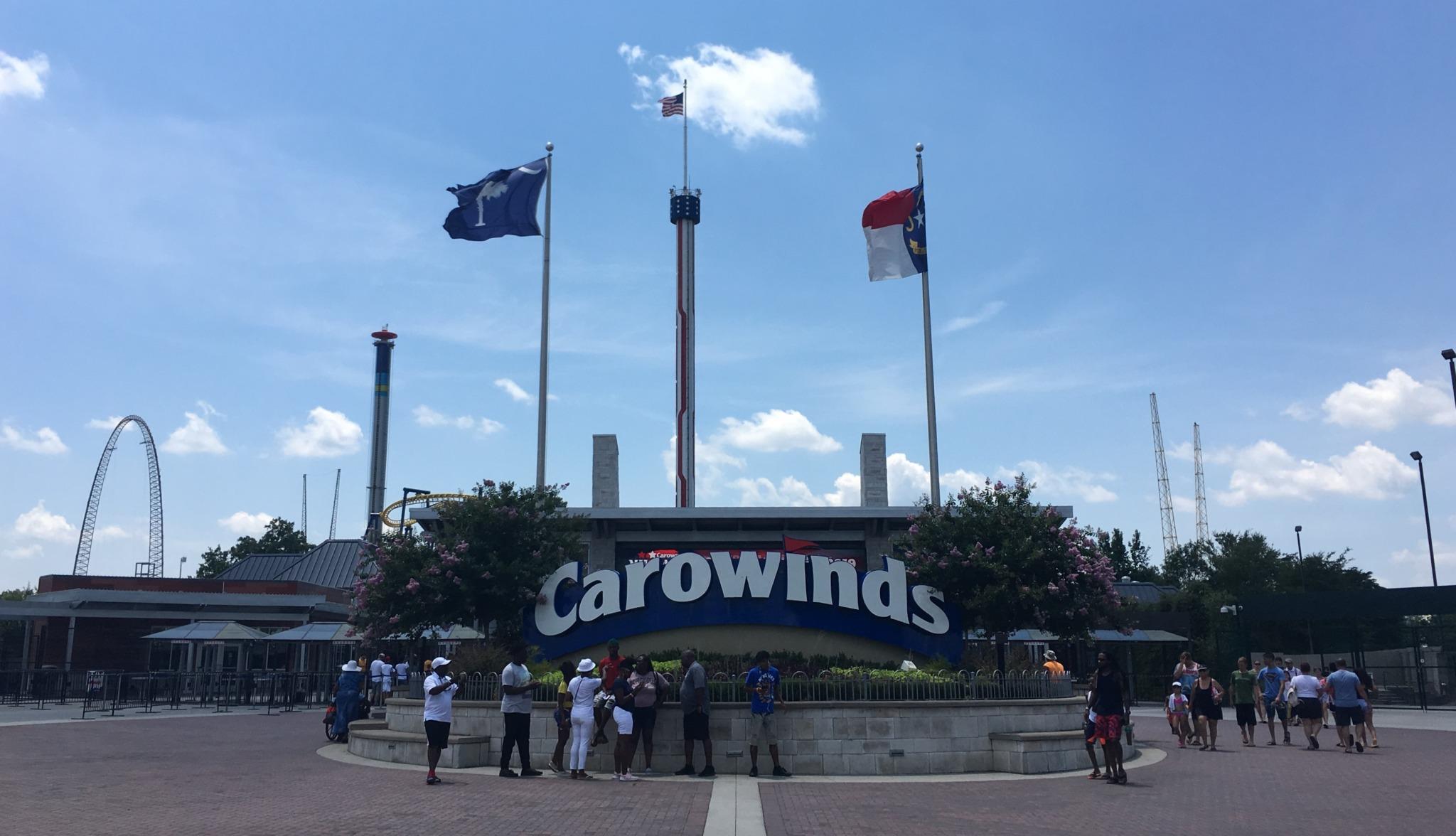 carowinds entrance