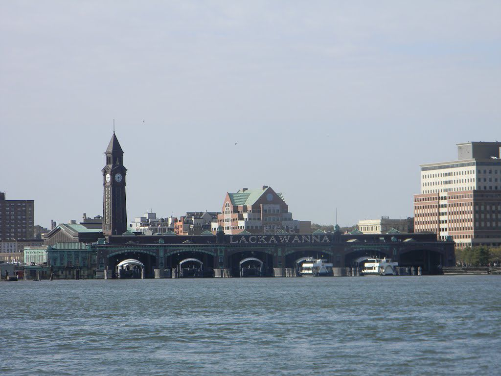 ferry view of hoboken terminal