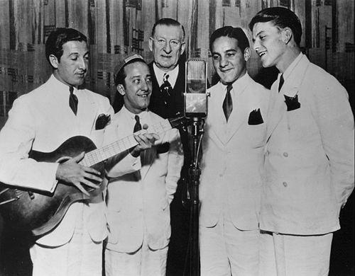 the hoboken four, frank sinatras band