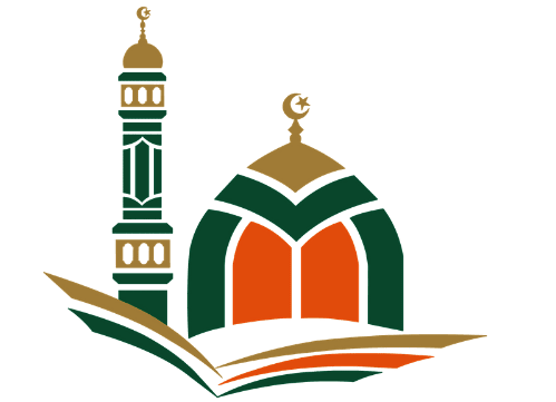 The Tawba Islamic Center logo features an illustrated graphic of the building.