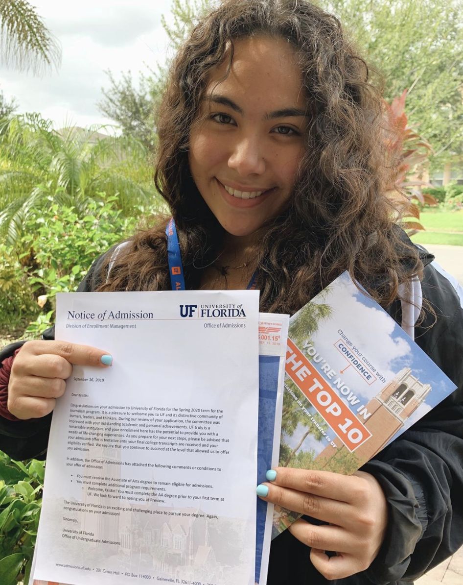 transfer student UF acceptance