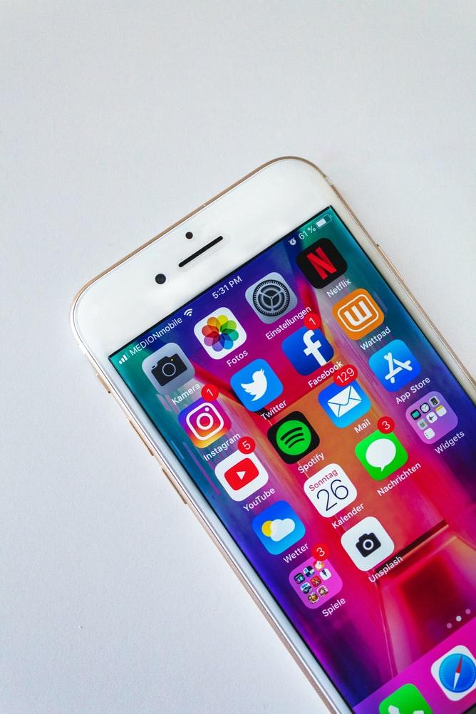 black lives matter social media iphone