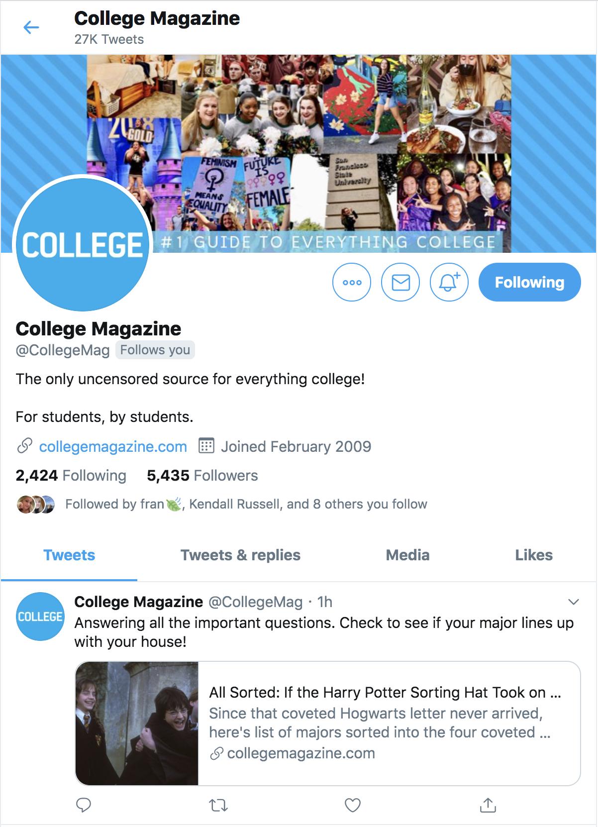 @collegemagazine
