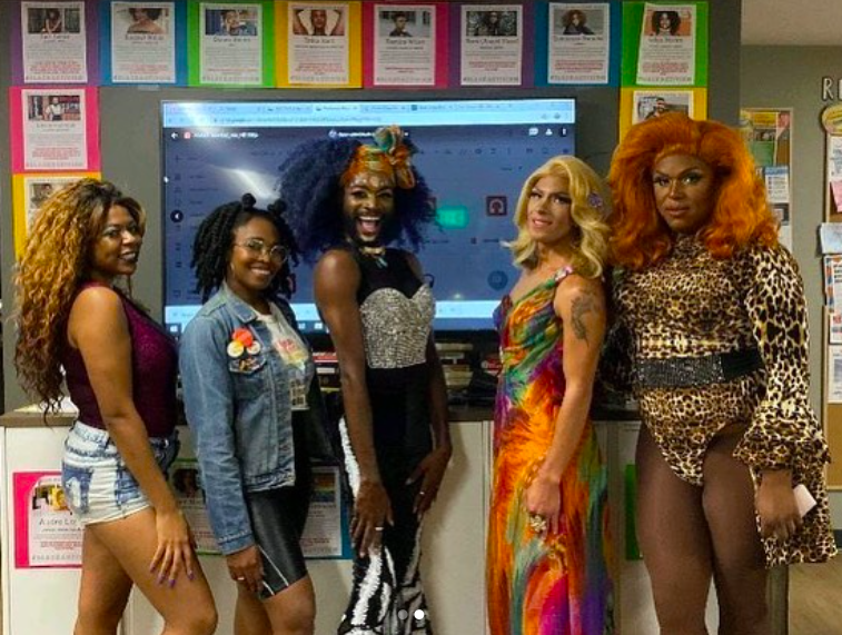 Students and drag queens celebrate Blaq Gay Pride Week