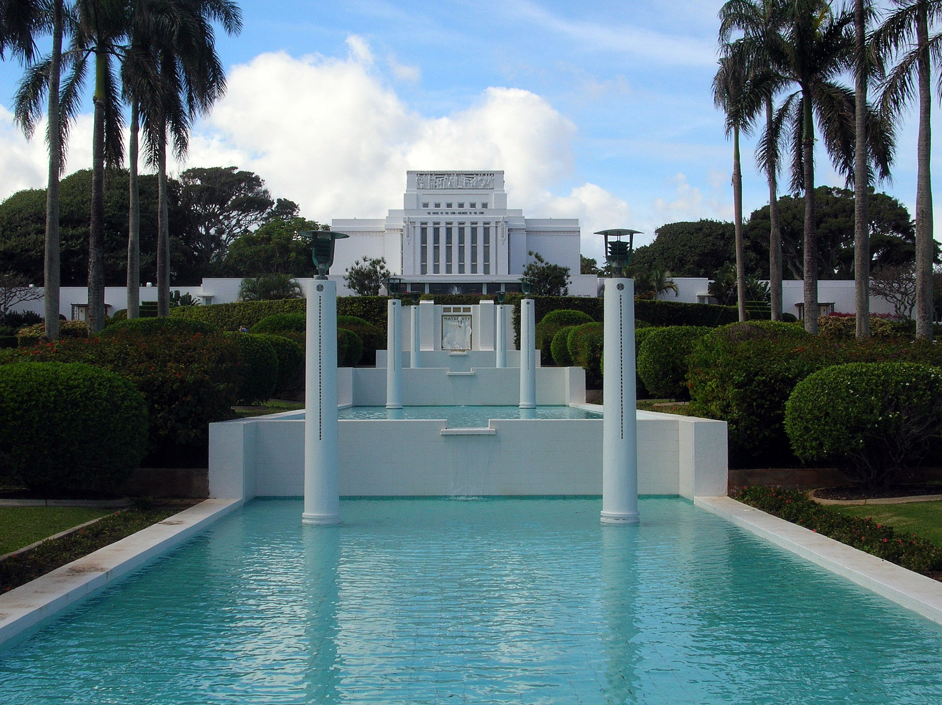 byu hawaii temple and foundation