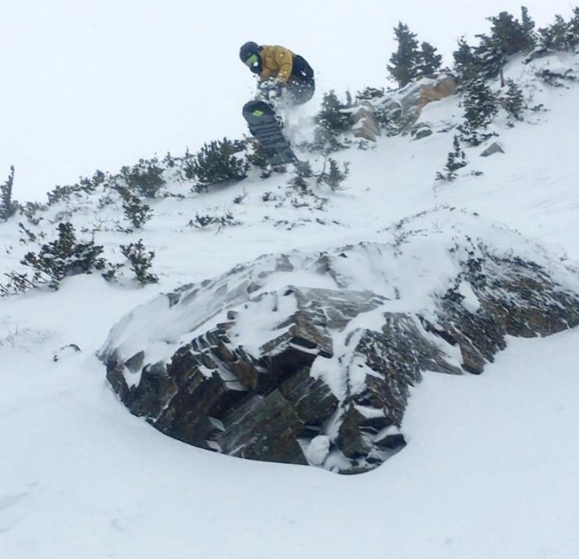 snowboarders uofu