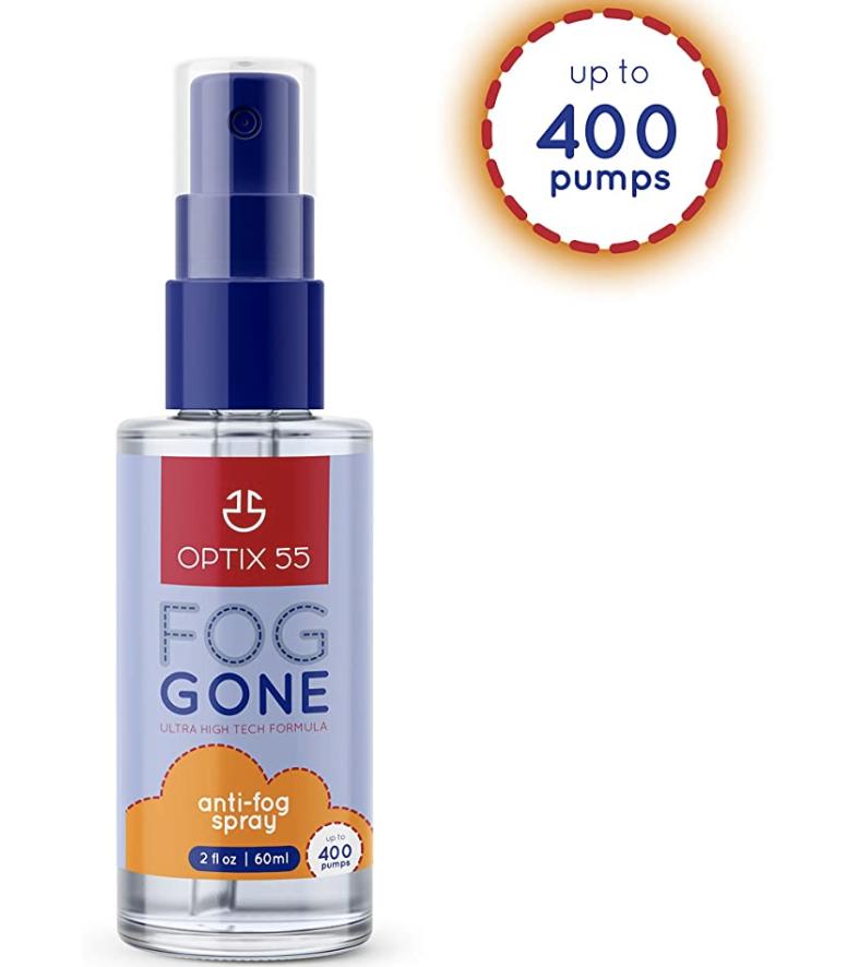 de-fog spray