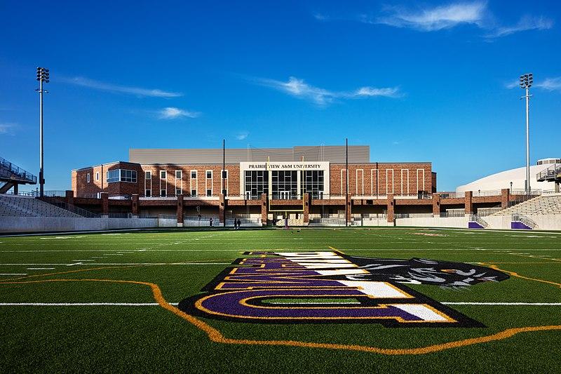 praire view football field