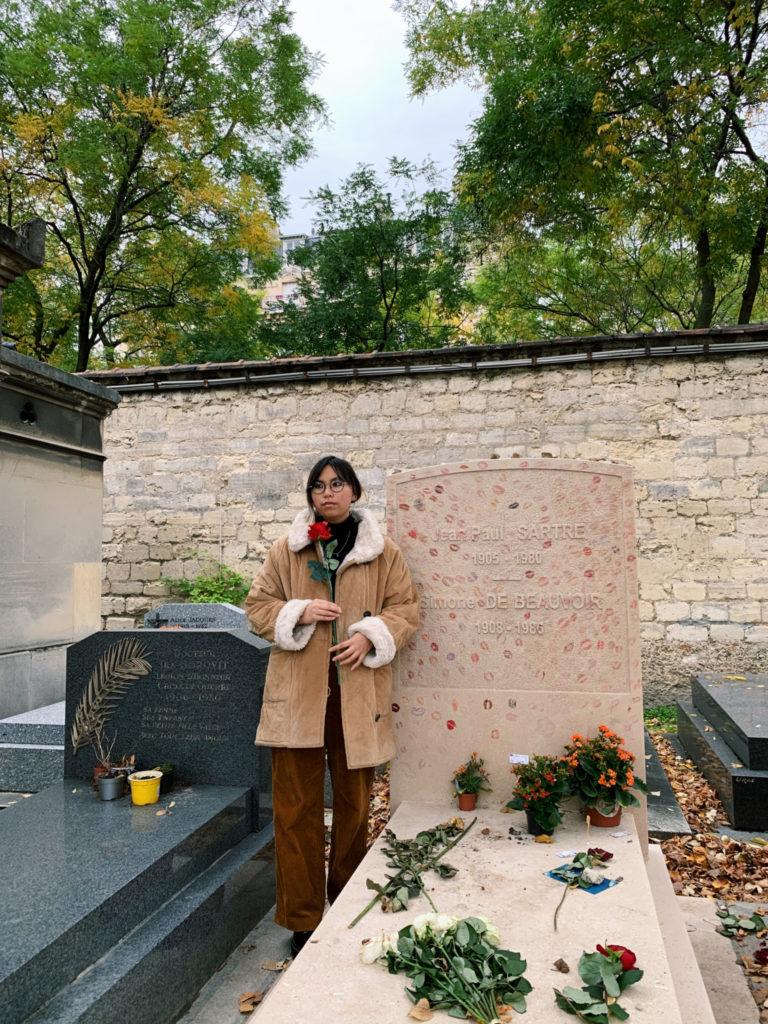 Beauvoir et Sartre's Grave