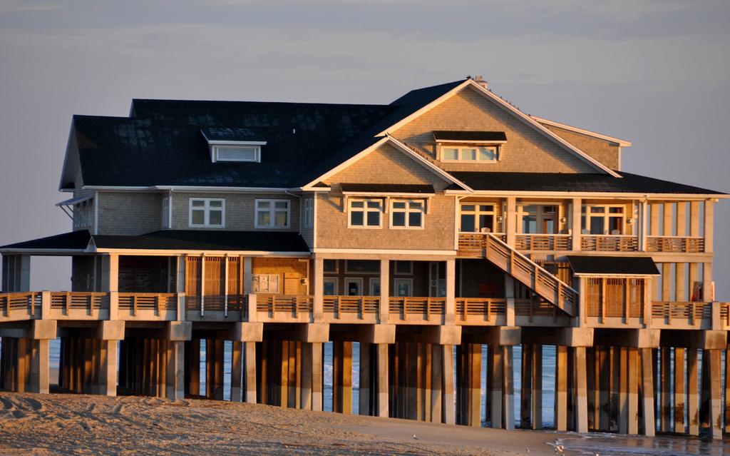 Coastal Building at Nag's Head beach