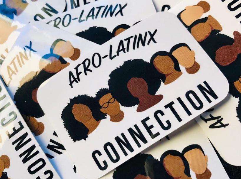 Afro-Latinx stickers