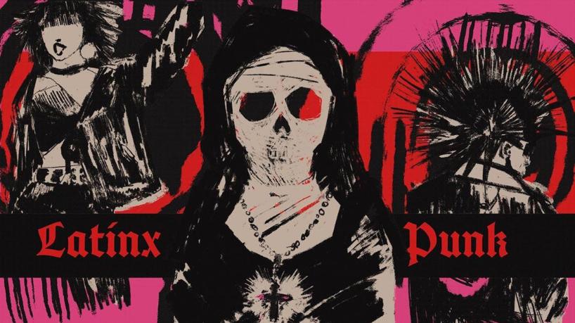 Latinx punk art