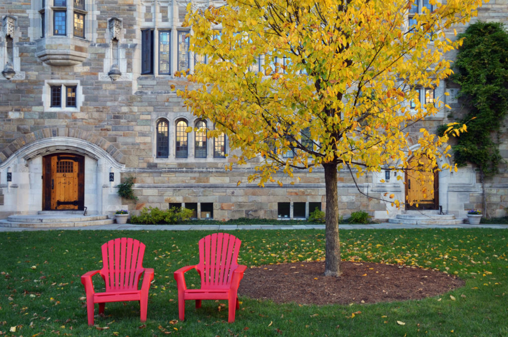 Yale Photo Spots Trumbull College