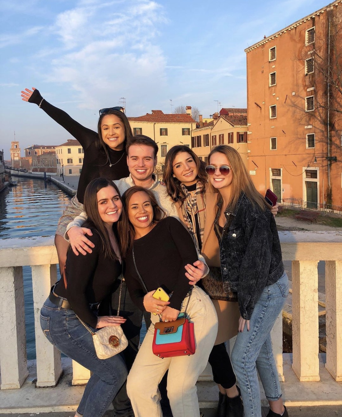 Group in Venice