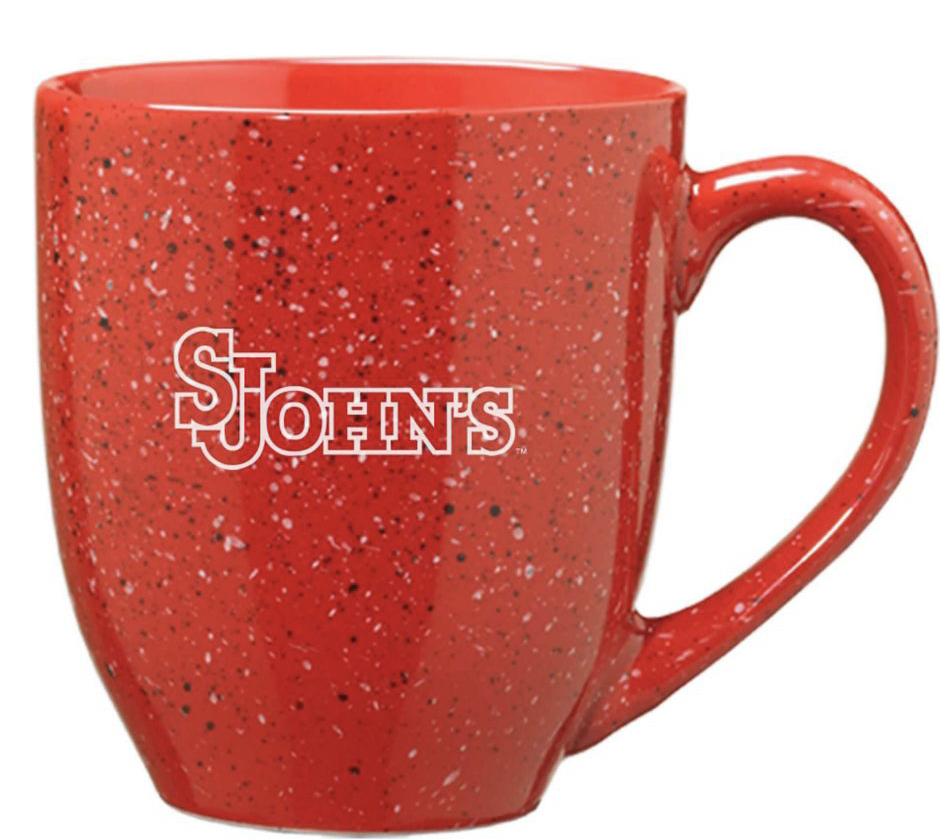 red marble st johns mug