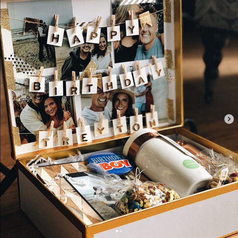 DIY Goodie Box gifts