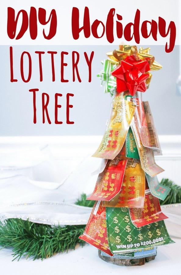 DIY Christmas Lottery Tree