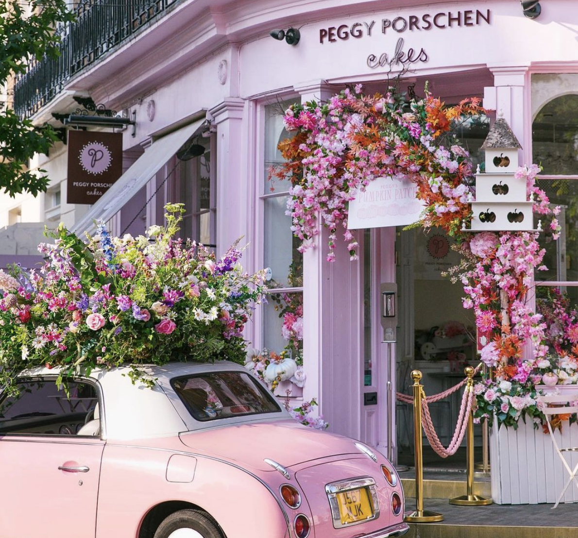things to do in london - peggy porschen cakes