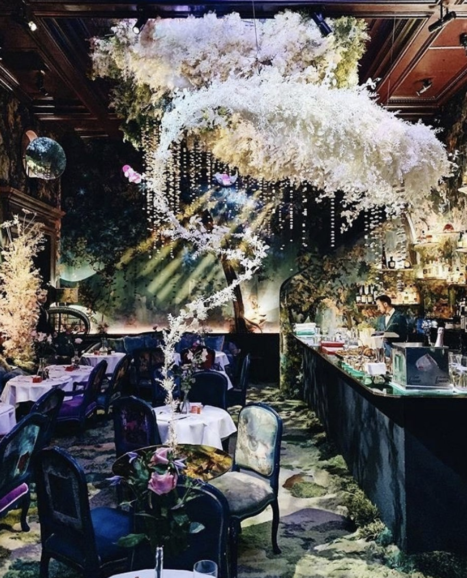 things to do in london - sketch dining teahouse