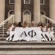 alpha phi girls posing