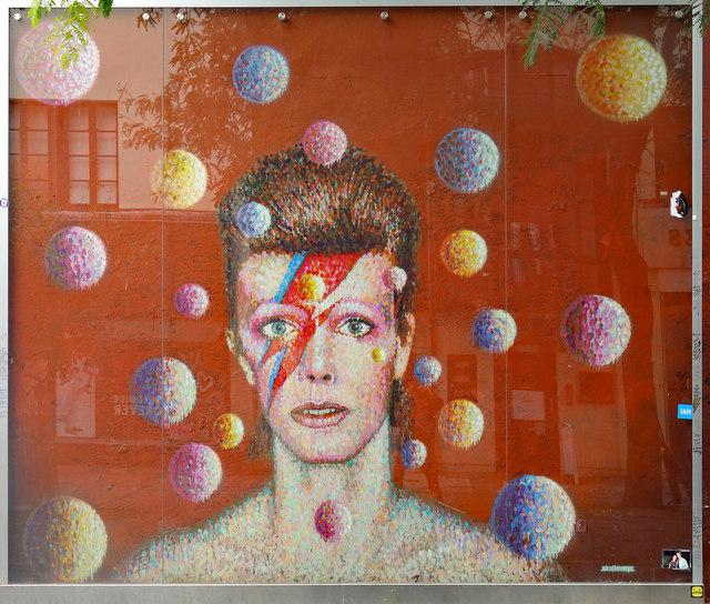 london bowie mural brixton