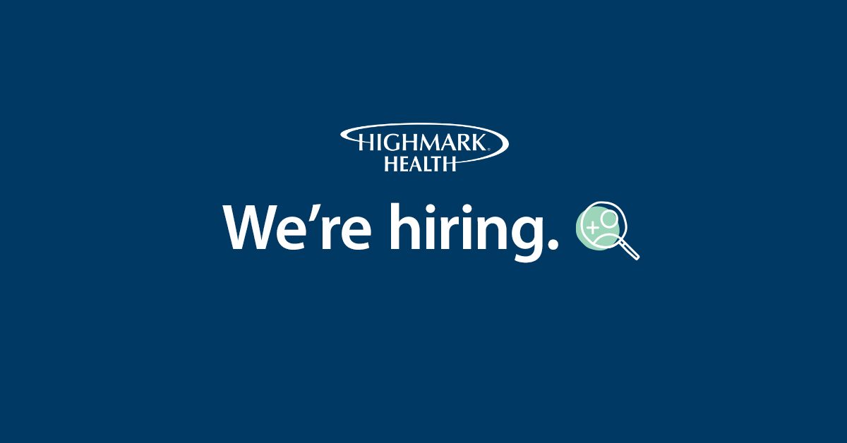 high mark health we're hiring logo